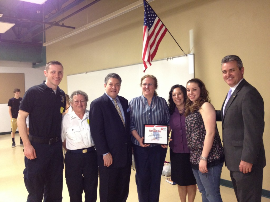 Celebrating 1,000 Students CPR Trained at Averill Park High School