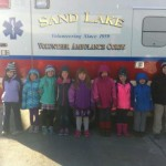 Brownie Troop 1135 Learns First Aid